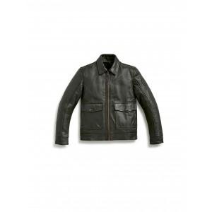 Кожаная куртка Engineer мужская