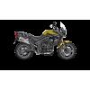Выхлоп Akrapovic Slip-On Line (Titanium) для Triumph Tiger 800 XC/XR/XRx/XCx/XRT/XCA | S-T800SO1-HZAAT