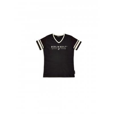 Футболка Berlin Built женская черная | 76899446284