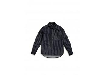 Джинсовая рубашка мужская