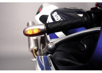 Указатель поворота светодиодный на рукоятку руля Kellermann BL 1000 LED matt chrome