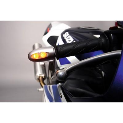 Указатель поворота светодиодный на рукоятку руля Kellermann BL 1000 LED matt chrome | 120.400