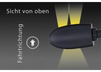 Указатель поворота светодиодный на рукоятку руля Kellermann BL 1000 DARK
