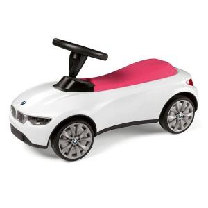 Детский автомобиль BMW Baby Racer III, White / Raspberry Red