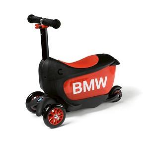Детский самокат BMW, Black / Orange