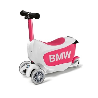 Детский самокат BMW, White / Raspberry   80932450902