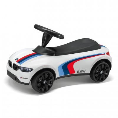 Детский автомобиль BMW Motorsport Baby Racer III, White