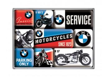 """Набор магнитов """"MOTORCYCLES"""" 9 штук"""
