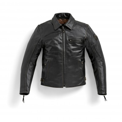 Кожаная куртка Pureboxer мужская