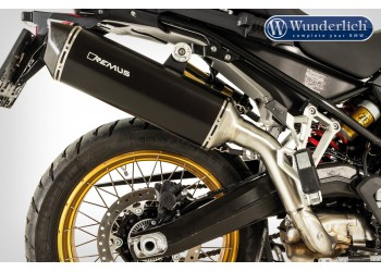 Глушитель REMUS Slip-on BLACK HAWK для BMW F 750 GS / F 850 GS / F 850 GSA