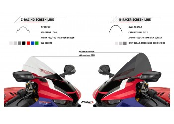 Ветровое стекло Puig Z-RACING S 1000 RR 19