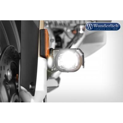 Комплект доп.света Micro Flooter на суппорты BMW R1200GS LC черный