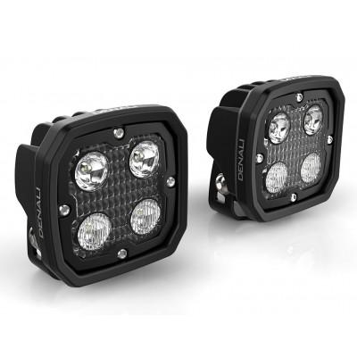 Комплект светодиодных фар DENALI D4 2.0 | DNL.D4.10000