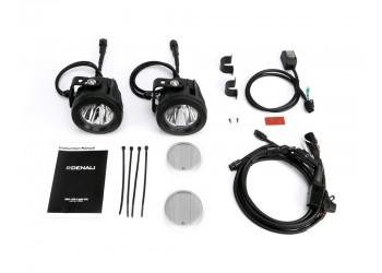 Комплект светодиодных фар DENALI DR1 2.0 TriOptic  с технологией DataDim