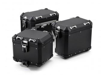 Комплект черных алюминиевых кофров BMW Motorrad для BMW R 1200 / 1250 / F 850 / GS / Adventure
