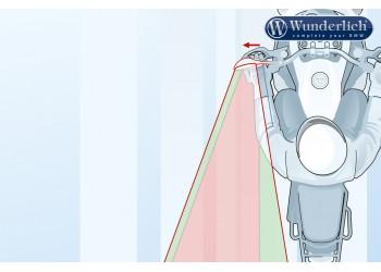 Асферическая накладка на зеркало BMW R1200 / 1250GS / Adventure левая