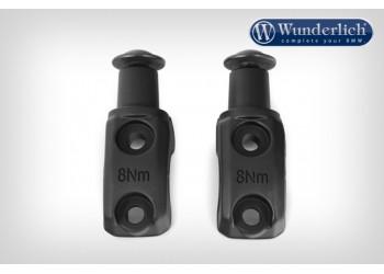 Комплект насадок для защиты рук Wunderlich - черный