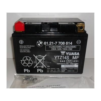 Аккумулятор BMW AGM - F700GS - F800GT - F800GS (2012-2018) - S1000RR (9-11) - HP2MEga / Enduro / Sport - R1200GSA (7-13) | 61217708614