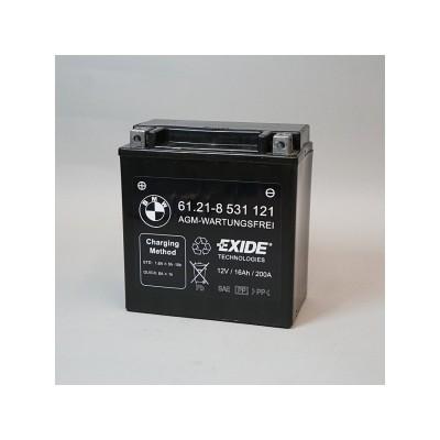 Аккумулятор BMW AGM - K1600GT / GTL - R1200RT - R1250RT   61218531121