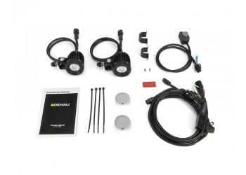 Комплект светодиодных фар DENALI D2 2.0 с технологией DataDim