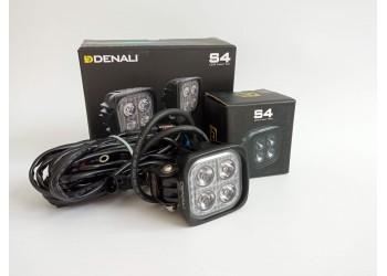 Комплект светодиодных фар DENALI S4 2.0 TRIOPTIC