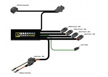 Контроллер Plug-N-Play DENALI 2.0 CANsmart для BMW R1200 И R1250
