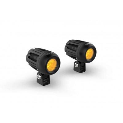 Комплект светодиодных фар DENALI DM 2.0 c технологией DataDim   Желтые линзы   DNL.DM.A