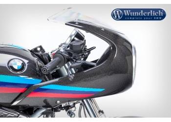 Карбоновая передняя обшивка на мотоцикл BMW R nineT Racer