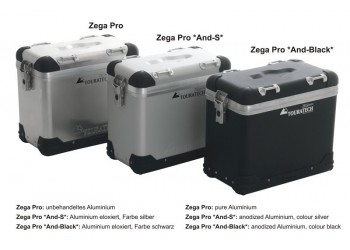 Кофры ZEGA Pro 2 Touratech для BMW F700GS/F800GS/F650GS (Twin)