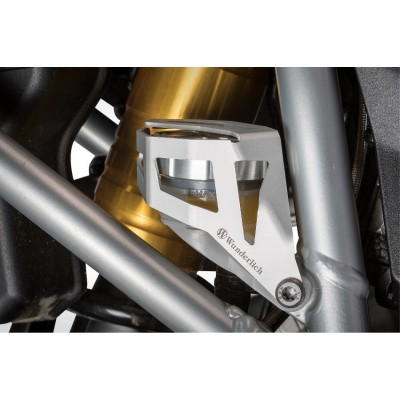 Защита заднего бачка тормозной жидкости BMW R1200GS LC / ADV - серебро