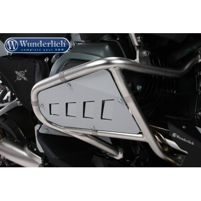 Защитные накладки Wunderlich для оригинальных дуг BMW Motorrad, серебристые | 41871-301