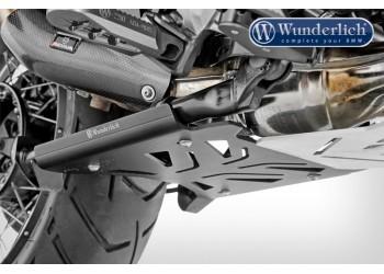 Защитная пластина центральной подножки Wunderlich - черный