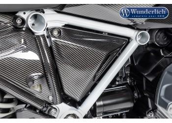 Карбоновая треугольная боковая накладка для BMW R1250GS Adventure/R1250GS, правая сторона