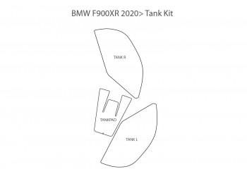 Пленка для защиты баков PremiumShield прозрачная для BMW F900XR