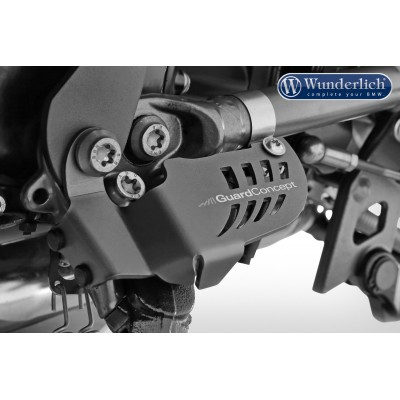 Защита датчика боковой подножки Wunderlich для BMW  R1200/1250GS/Adventure/R/RS
