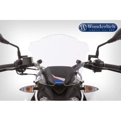 Ветровое стекло Wunderlich SPORT для мотоцикла BMW G310R, прозрачное   44920-105
