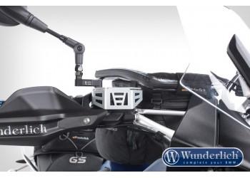 Защита бачка тормозной жидкости R1200GS LC / R1200GS LC ADV / R nineT - серебро