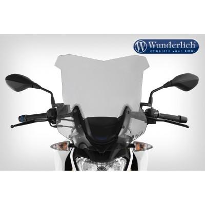 Ветровое стекло Wunderlich Touring для мотоцикла BMW G310R, тонированное   44920-006