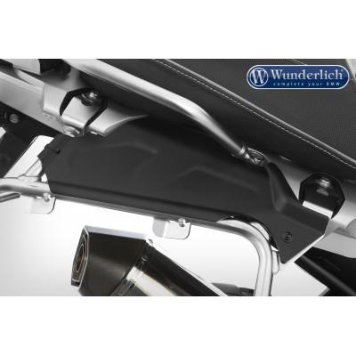 Боковые защитные крышки на проем между рамой и кофрами для BMW R1200GS LC/R1250GS/R1250GS Adventure, черные, комплект