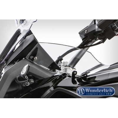 Боковой дефлектор Wunderlich ERGO для BMW R1200GS LC прозрачный