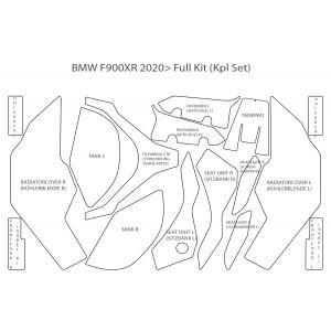 Комплект лакокрасочной пленки PremiumShield для BMW F900XR