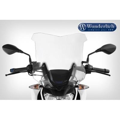 Ветровое стекло Wunderlich Touring для мотоцикла BMW G310R, прозрачное