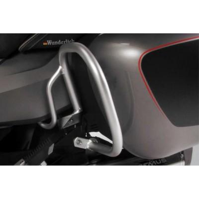 Защитная дуга боковых кофров Wunderlich для BMW R 1200 RT (-2013), серебристый