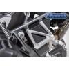 Защита ног пассажира от грязи Wunderlich для BMW R1200GS LC/R1250GS черная | 26002-002
