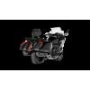 Глушитель Akrapovic Slip-On Line (Titanium) для BMW K1600B / K1600 Grand America 2017-2020   S-B16SO3-HRAATBL
